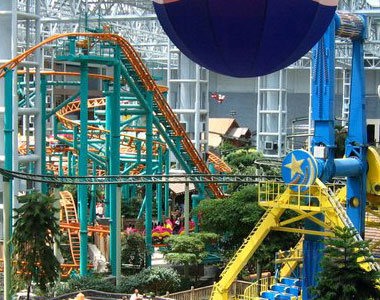Mall of Americas Amusement Park.